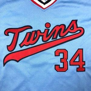Mitchell & Ness Shirts - 1984 Twins Mitchell & Ness Jersey Size 48 Mens XL